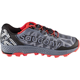 saucony Koa ST Shoes Men Grey/Black/ViziRed